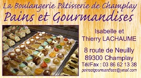 sarl Pains & Gourmandises Champlay